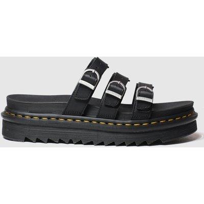 Dr Martens Black Blaire Slide Sandals