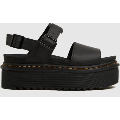 Dr Martens Black Voss Quad Sandals