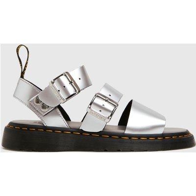 Dr Martens Silver Gryphon Sandals