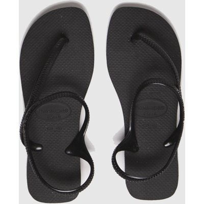 Havaianas Black Flash Urban Sandals