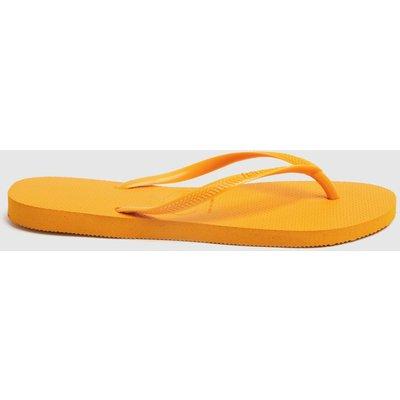 Havaianas Yellow Slim Sandals