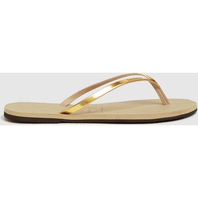 Havaianas Gold You Metallic Sandals