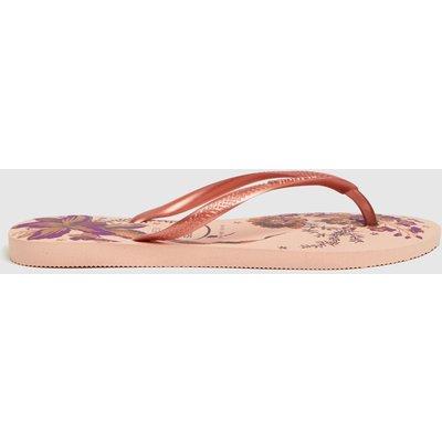 Havaianas Pale Pink Slim Organic Sandals
