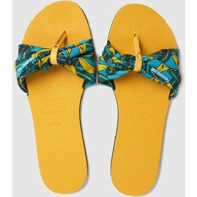 Havaianas Yellow You Saint Tropez Sandals