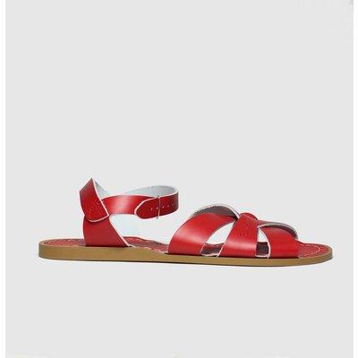 Salt-Water Red The Original Sandals