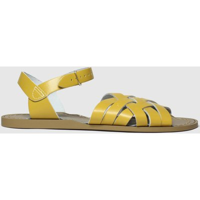 Salt-Water Yellow The Retro Sandals
