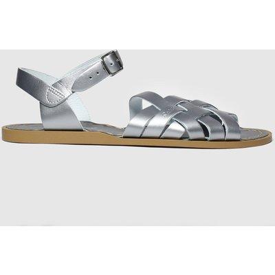 Salt-Water Silver The Retro Sandals