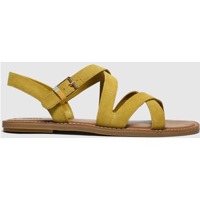 Toms Yellow Sicily Sandals