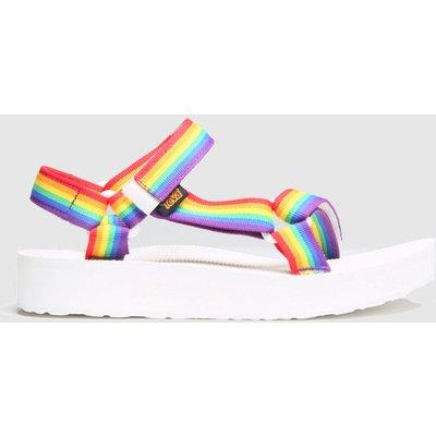 Teva Multi Pride Midform Universal Sandals