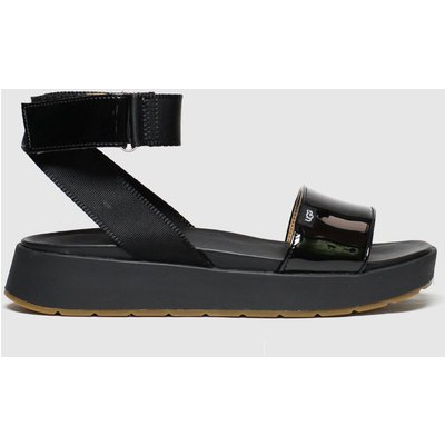 UGG Black Lennox Sandals