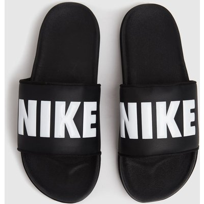 Nike Black & White Off Court Sandals