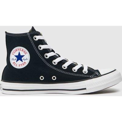 Converse Black & White All Star Hi Trainers