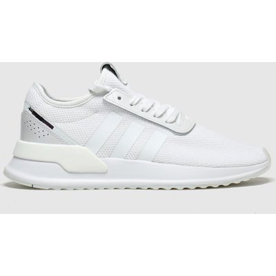 Adidas White & Black U_path Trainers