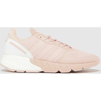 Adidas Pale Pink Zx 1k Boost Trainers