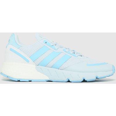 Adidas Light Grey Zx 1k Boost Trainers