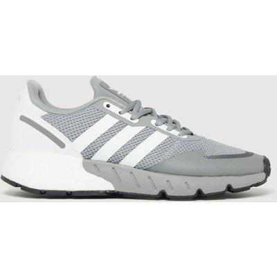 Adidas Grey Zx 1k Boost Trainers