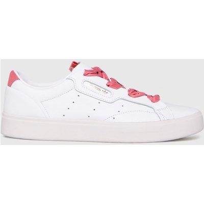 Adidas White Sleek W Trainers