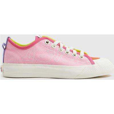 Adidas Pale Pink Nizza Pride Trainers