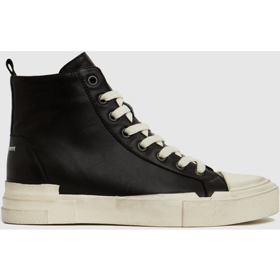 ASH Black & White Ghibly Trainers