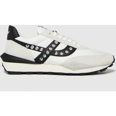 ASH White Spider Studs Trainers