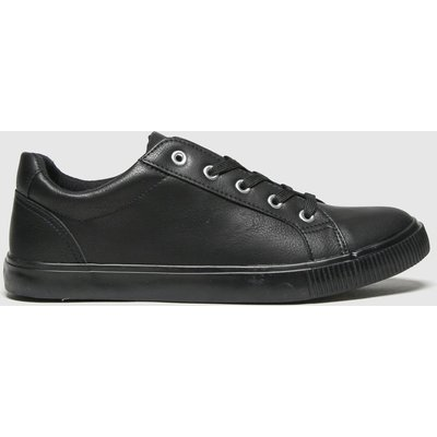 Schuh Black Molly Lace Up Trainer Trainers