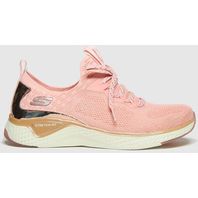 SKECHERS Pink Solar Fuse Gravity Exper Trainers