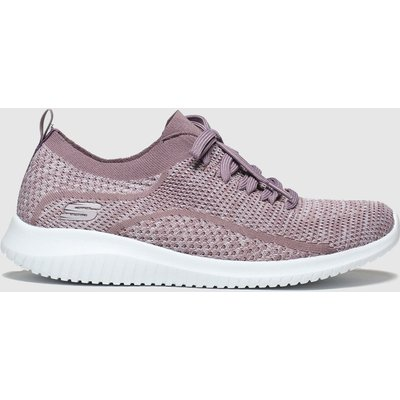 Skechers Lilac Ultra Flex Statements Trainers
