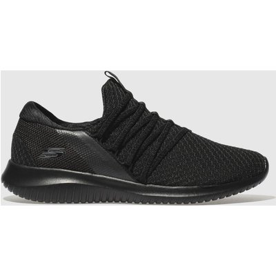 Skechers Black Ultra Flex Trainers
