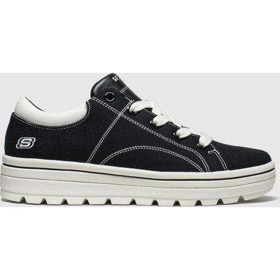 Skechers Black Street Cleats 2 Bring It Trainers