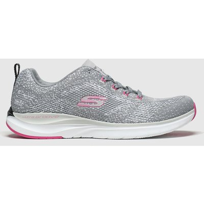 Skechers Grey Ultra Groove Trainers