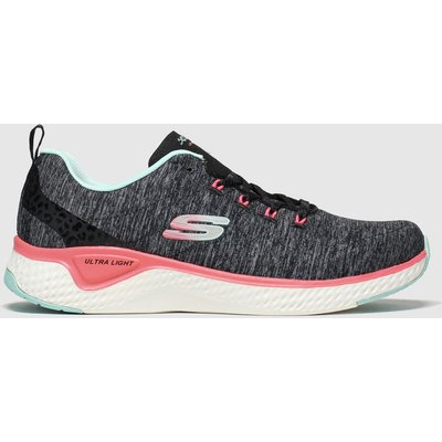 Skechers Black Solar Fuse Trainers