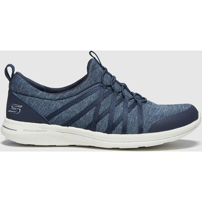 SKECHERS Navy City Pro What A Vision Trainers