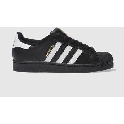 Adidas Black & White Superstar 2 Trainers