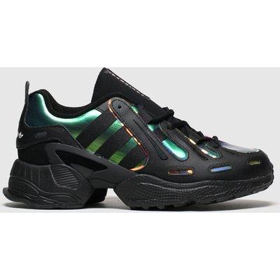 Adidas Black & Green Eqt Gazelle Trainers