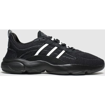 Adidas Black & White Haiwee Trainers