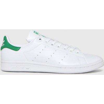 Adidas White & Green Stan Smith Primegreen Trainers