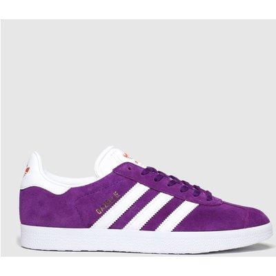 Adidas Purple Gazelle Trainers