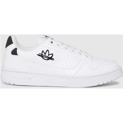Adidas White & Black Ny 90 Trainers