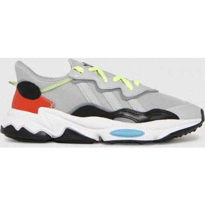 Adidas Light Grey Ozweego Trainers