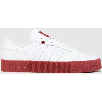 Adidas White Sambarose W Trainers