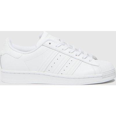 Adidas White Superstar Trainers