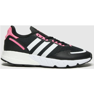 Adidas Black & Pink Zx 1k Boost Trainers