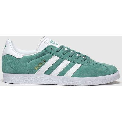 Adidas Green Gazelle Suede Trainers