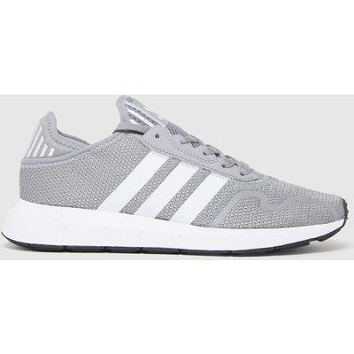 Adidas Grey Swift Run X Trainers