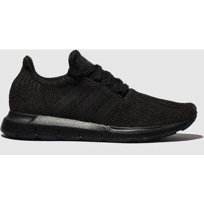Adidas Black Swift Run Trainers