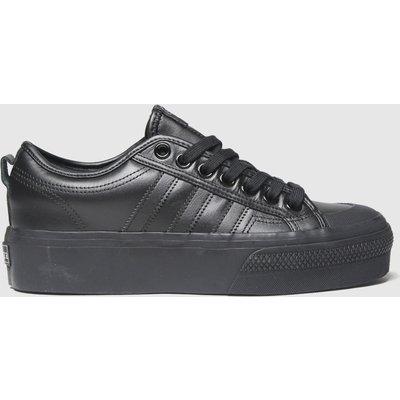 Adidas Black Nizza Platform Trainers