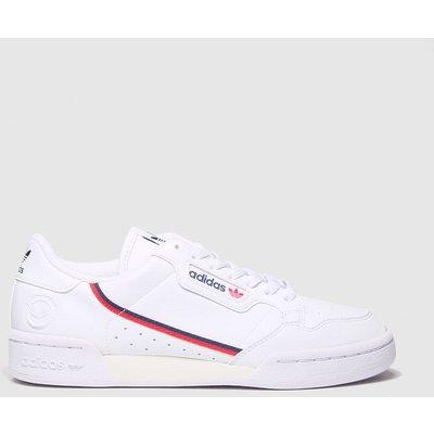 Adidas White Continental 80 Vegan Trainers