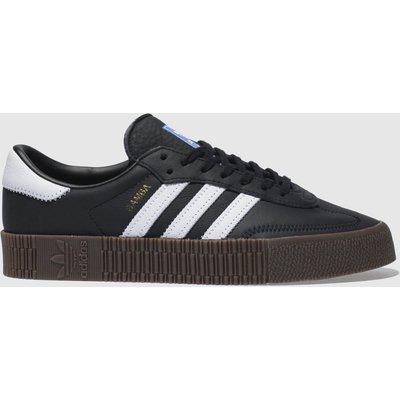 Adidas Black & White Sambarose Trainers