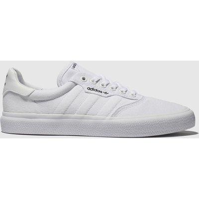 Adidas Skateboarding White 3mc Trainers