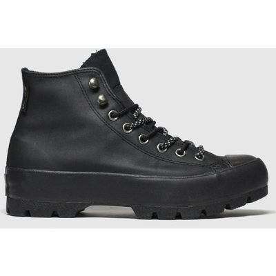 Converse Black All Star Lugged Trainers